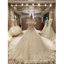 Новое Прибытие 2017 Топ Принцесса Брак Пышные Свадебные Платья