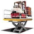 Hot !!hydraulic simple scissor goods lift table for sale