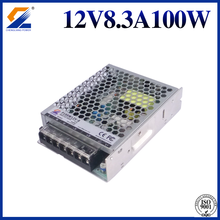 Slim Power Supply 12V 8.3A 100W