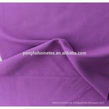Tecido de poliéster 100% poliéster impresso / tecido de pele de pessegueiro