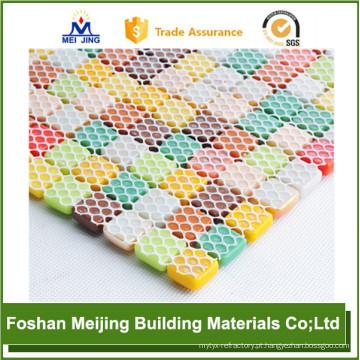 melhor preço malha hexagonal malha de plástico de apoio de mosaico
