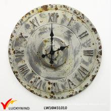 Reloj promocional de la decoración retro elegante de la calidad Metal