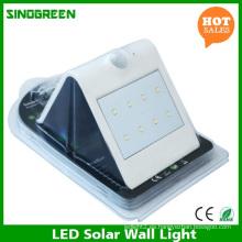 Lámpara de pared solar LED Smart Solar & Sensor LED Wall Light