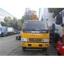 Double Cabin Aerial Working Platform Truck with Basket