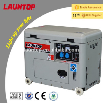 5.5kw home use silent type diesel generator with 188F engine(474cc) for sale