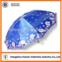China Moda feminina 3 guarda-chuva de cetim dobrável em Bangladesh