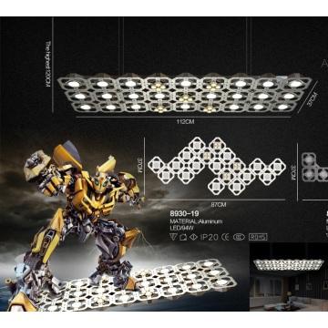 Lámpara colgante LED de aluminio de la sala de cena (8930-27)