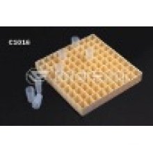 CE Aprovado Sample Cup Rack para F800 100holes