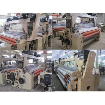 Automatique E-Plaine Armure Satin Weave Twill Jet D'eau Looms Fabricant Chine