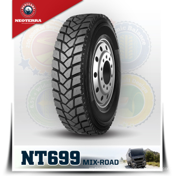 NEOTERRA brand Alibaba Truck Tyres Pneu 13r22.5