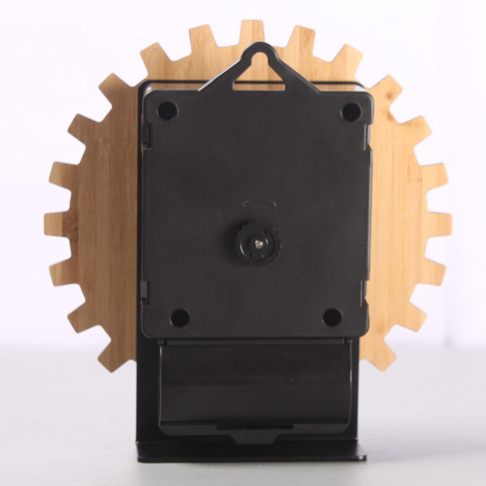 mini wooden alarm clock