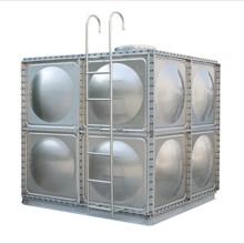 Tanque de almacenamiento de agua de panel modular de acero inoxidable