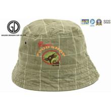 New Baby Kids Princesa impressa reversível respirável Sun Bucket Hat