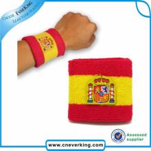 Fashion Design Benutzerdefinierte Logo Günstige Baumwolle Armband