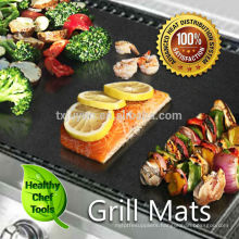 Barbeque BBQ Non-Stick Hotplate Liners X 2 Mat Protection ,Easy Cean Sheet .Cook on Webe
