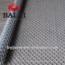 Malla de malla de metal o tela de enlace de cadena