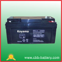 Maintenance Free UPS Battery 65ah 12V for UPS Application