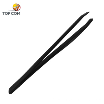 Manicure slant tip tweezers tool for the lashes hair