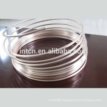 Electronic contact material silver alloy wires