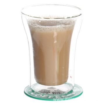 ODM for Double Wall Glass Coffee Cup Heat Resistant Borosilicate Double Wall Glass Cup export to Gambia Factory