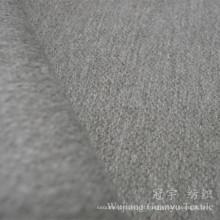 Tela do poliéster de matéria têxtil da casa do toque de lãs para as tampas do sofá
