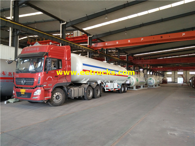 20tons ASME LPG Delivery Trailers