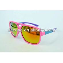 Elastic and colorful frame sunglass fashion sell 2014