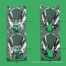 Galvanisierender Aluminium überzogener LED Lampenschirm