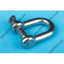 European Type Large Dee Shackle Stainess Steel