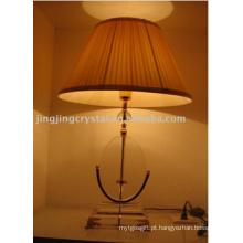 Luminárias de mesa de cristal para decoração de casa