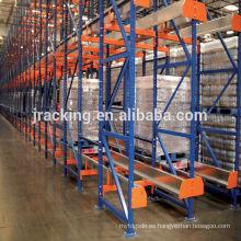 Nanjing Jracking Warehouse Storage Shuttle Estantería Estantería Divisor