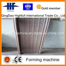 Produção profissional Hot DIP galvanizado plataforma Steelcase formando máquina