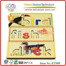 Wooden Pädagogische Puzzle Spielzeug