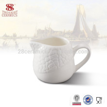 Wholesale chaozhou ceramic milk jug, porcelain coffee creamer