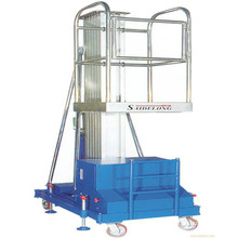 China High Quality And Performance Aluminum Mast-type Aerial Hydraulic Lift Platform