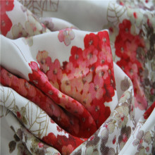 Digital Printing for Floral Crepe with Heavy Silk