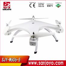 Huajun juguetes 5.8G hd video cámara drone toy fpv de largo alcance con wifi W606-5