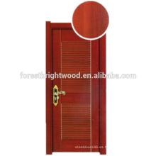 Diseños ecológicos de la puerta del dormitorio del MDF de la melamina respetuosa del medio ambiente