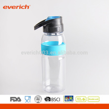 2016 Single Wall Plastic Sports Water Bottle BPA Gratuit