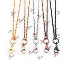 Customized Lockets / Charms / Pendentif en acier inoxydable Rolo Chain Necklace (CSC60103)