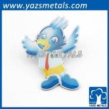 adorável desenhos animados pássaro badges lábios presentes infantis