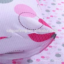 tecido branco para camisa / lençol / uniforme escolar / embolsando impresso polycotton tc 65/35 tecido