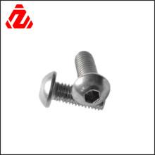 Parafuso redondo de aço inoxidável 304
