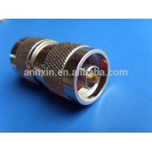Excelente calidad de venta caliente rg6 rg59 adaptador de 75 ohmios cables coaxiales