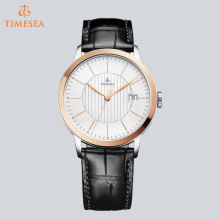 Luxury Brand Men Quartz Watches Genuine Leather Waterproof Casual Wrist Watch for Business 72687