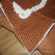 Cheap fabric bath rug sets non slip bathtub mats