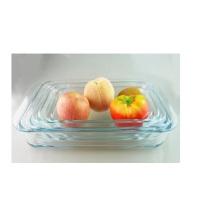 Plaque de cuisson en verre rectangulaire
