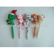 school stuffed animal plush ballpen