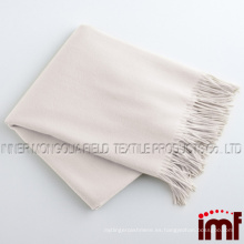 Todos Natural Cachemira / Lambswool Fringed Throw