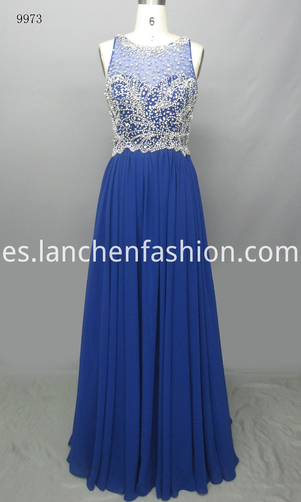 Gorgeous Long Chiffon Gown